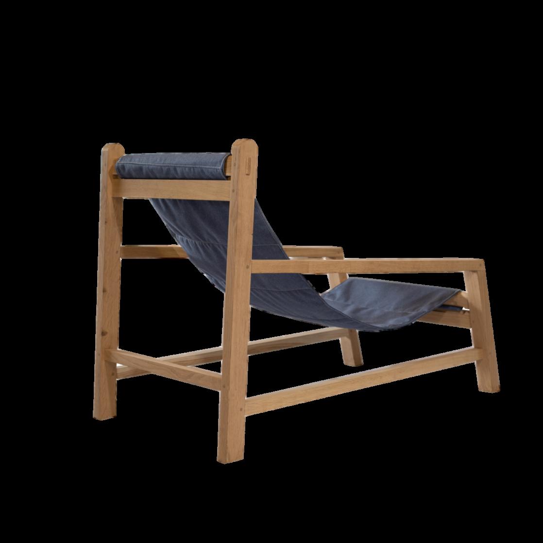 Dorothy Sling Chair Back - Denim